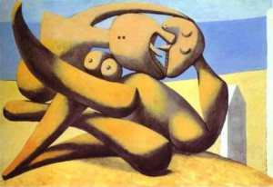 Pablo-Picasso-Figures-on-a-Beach2